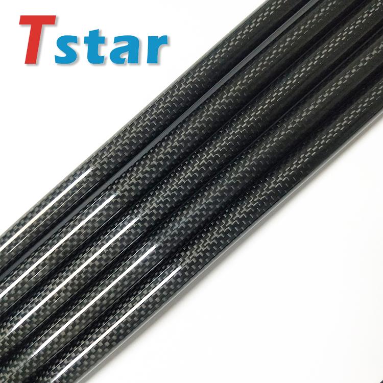 高强度卷制1K碳纤维管