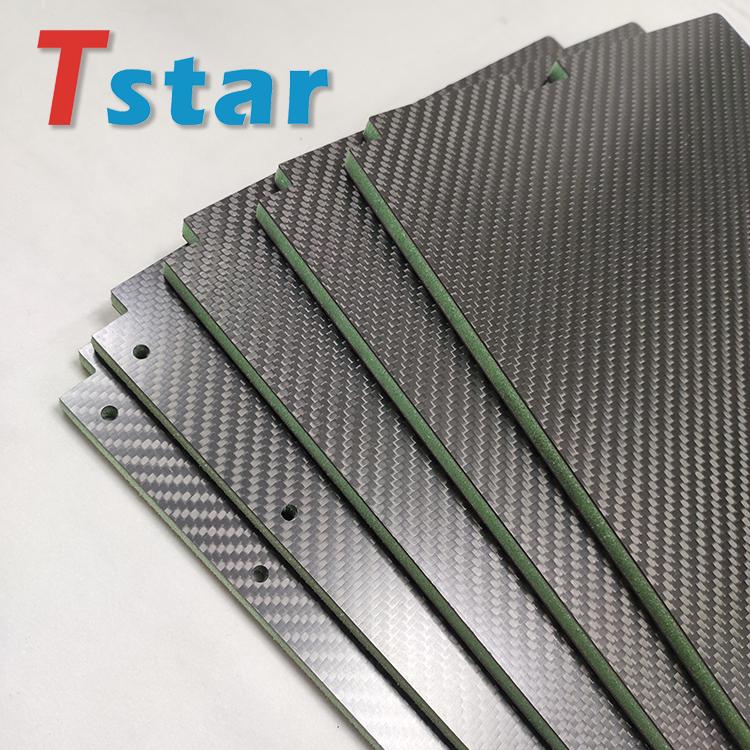 夹芯碳纤维板